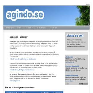 Hitta din Domän på Agindo.se