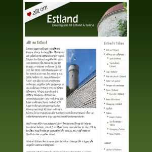 Allt om Estland & Tallinn