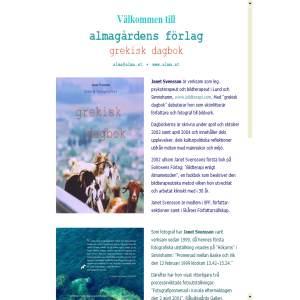 Välkommen till Almagårdens Förlag