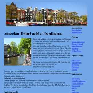 Resor till Amsterdam