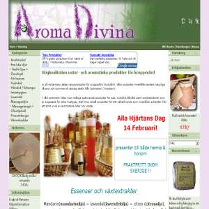Aroma Divina : Naturlig Hudvård & Aromaterapi