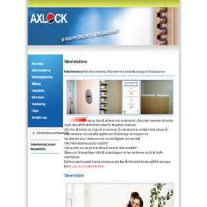Axlock Säkerhetsdörrar