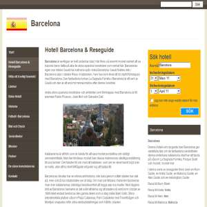 Resa till Barcelona