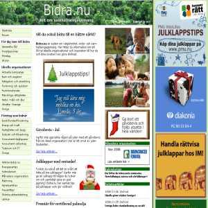 Bidra.nu - Guiden till välgörenhet
