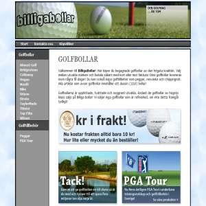 Golfbollar - billigabollar.se