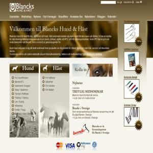 Hund och Häst produkter - Blancks Hund & Häst