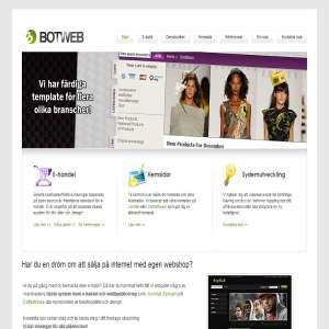 Botweb.se - webbyrå