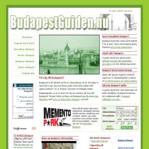 Budaepstguiden.nu - En reseguide om Budapest