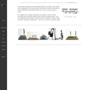 Skulpturer - officiell hemsida för konstnär Johan Jonsson