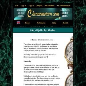 Klockor via Chronometern.com