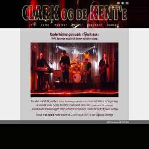 CLARK og de KENTe - levande musik