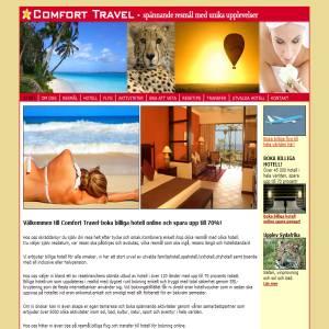 Comfort Travel-spännande resor med unika upplevelser!