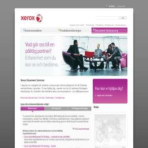Xerox Dokumenttjänster och Företagsrelaterade Konsulteringstjänster