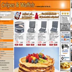 crepes and waffels
