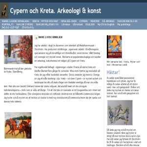 Cypern och Kreta. Arkeologi, konst och kultur