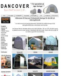 Tält og tälte til salg