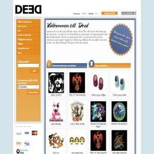 DEED - Designa & tryck dina egna kläder online