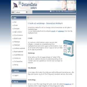DistansData - E-butik och e-handel