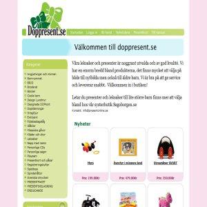 Doppresent.se - Presenter till dop o födelsedag