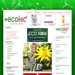 ecokid.se - miljövänliga barnkläder