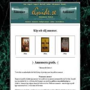 Annonsera på eGuide.se