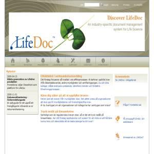 Dokumenthanteringssystem för Life Science och livsmedelsföretag.