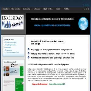 Enkelsidan Webbdesign