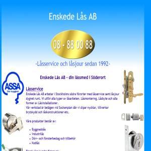 Enskede Lås AB - 08-88 00 88. Låssmed, Låsservice, Låsjour