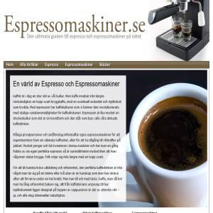Espresso och Espressomaskiner