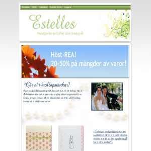 Handgjorda Inbjudningskort för Bröllop mm