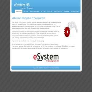 Välkommen till eSystem IT Development HB