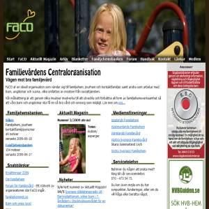 FaCO FAmiljevårdens Centralorganisation