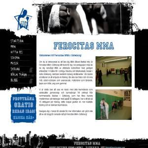 Ferocitas MMA i G�teborg