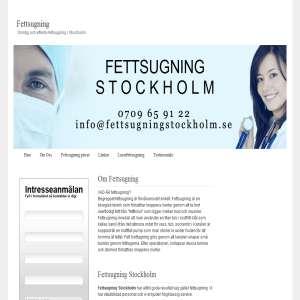 Fettsugning Stockholm