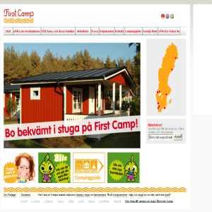 Camping och stugor över hela Sverige