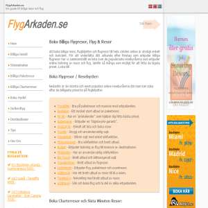 FlygArkaden - Billiga Resor