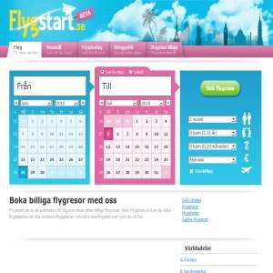 Billiga flygbiljetter - flygstart.se