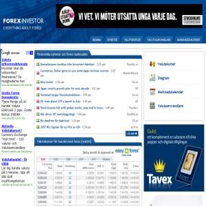 Forex Investor - Valutakurser