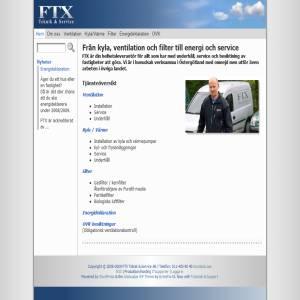 FTX Teknik & Service ventilation