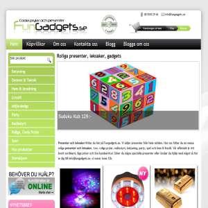 Leksaker, presenter & gadgets