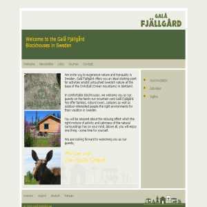Galå Fjällgård - semester och friluftsliv i Jämtlandsfjällen