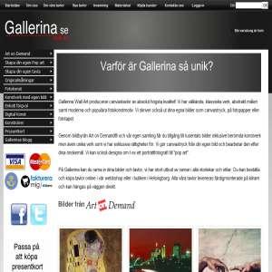 Gallerina - Tavlor och konst för alla