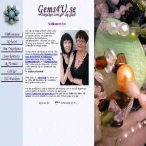 Gems4u.se - Smycken som gör dig glad!