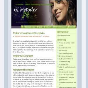 GI metoden | GI info och GI tabell
