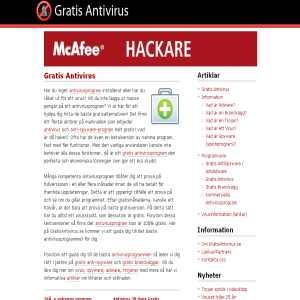 Gratis antivirusprogram