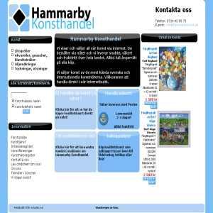 Hammarby Konsthandel - Konst på nätet