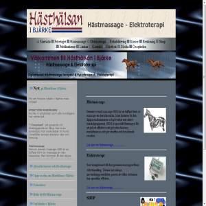 Hästhälsan i Bjärke.Hästmassage & Elektroterapi