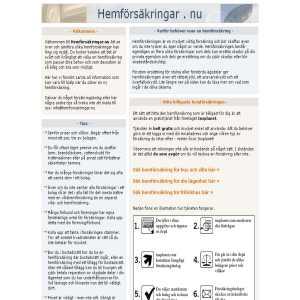 Hemförsäkring