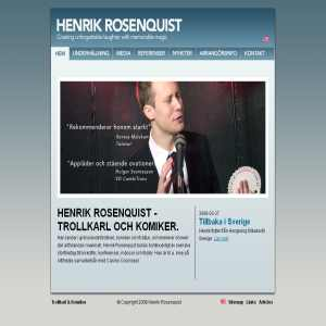 Henrik Rosenquist Komiker
