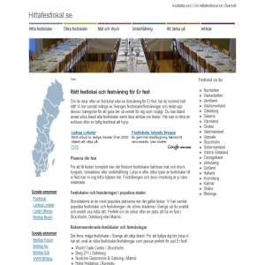 Hitta festlokal i Sverige